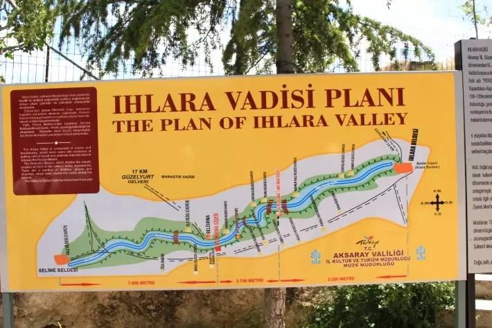 ihlara valley, things to do in Cappadocia, Turkey
