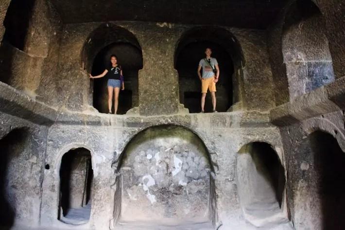 underground city, things to do in Cappadocia, Turkey