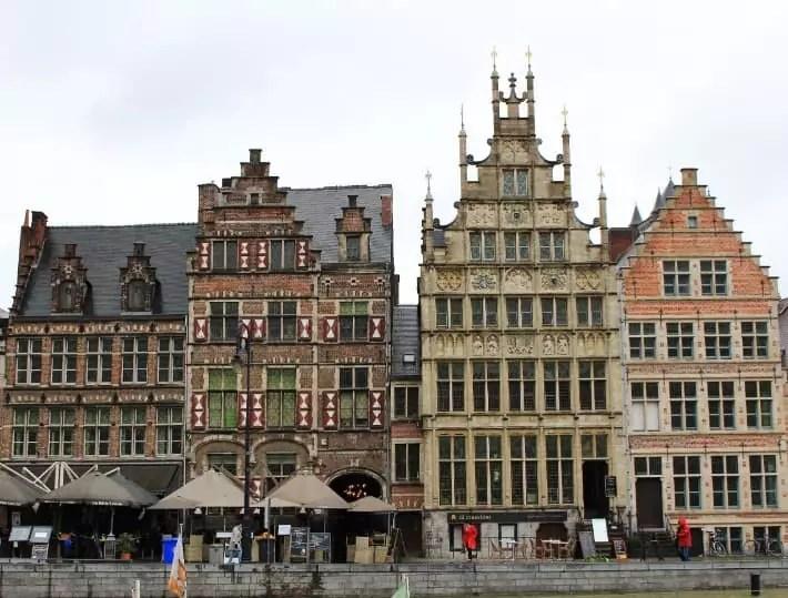 ghent buildings, belgium