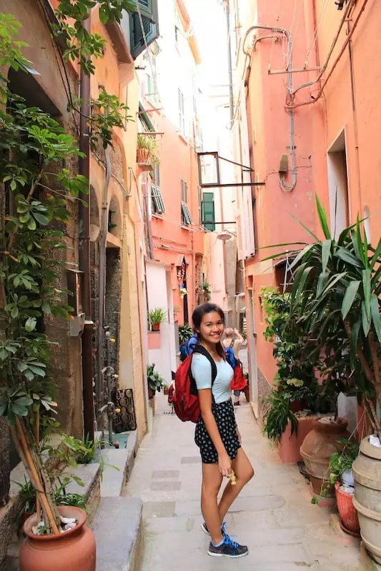 streets of Vernazza, things to do in cinque terre, cinque terre villages