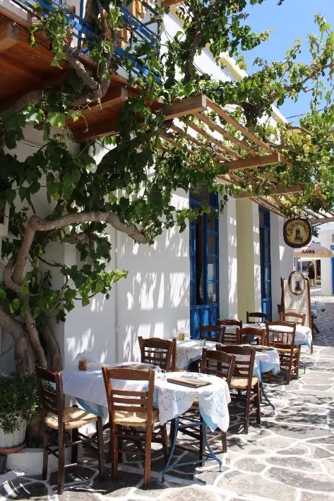 milos greek restaurant, plaka tavern, things to do in milos island, Where to Stay in Milos, Greece