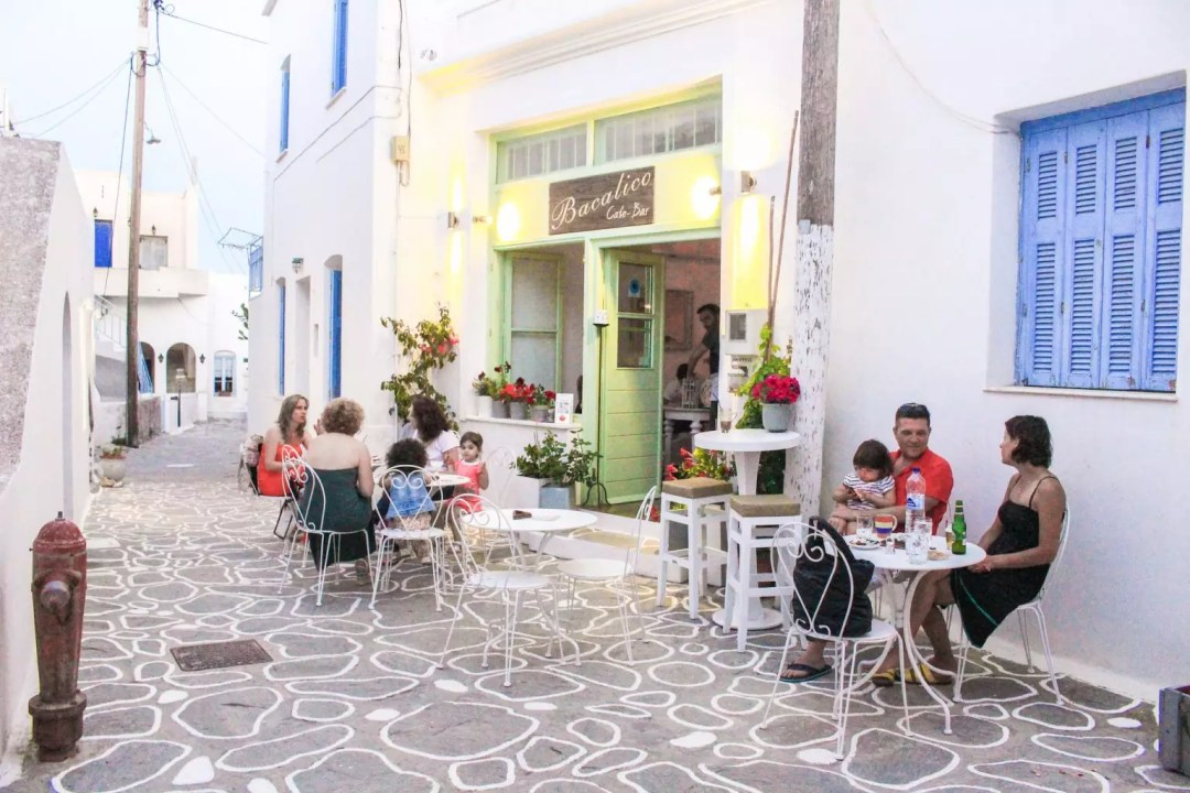 milos greek restaurant, things to do in milos island, Where to Stay in Milos, Greece
