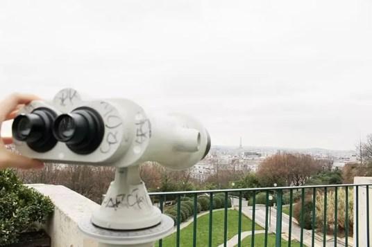 Parc de Belleville viewpoint, paris arrondissements map, best places to visit in paris
