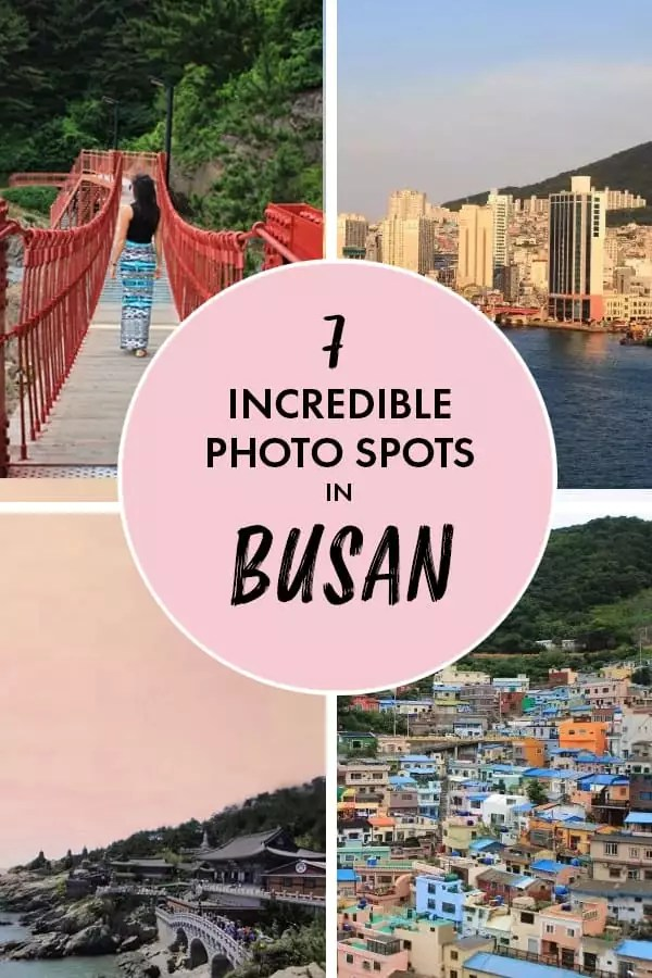 Get all the Instagrammable spots in #Busan #Korea here!