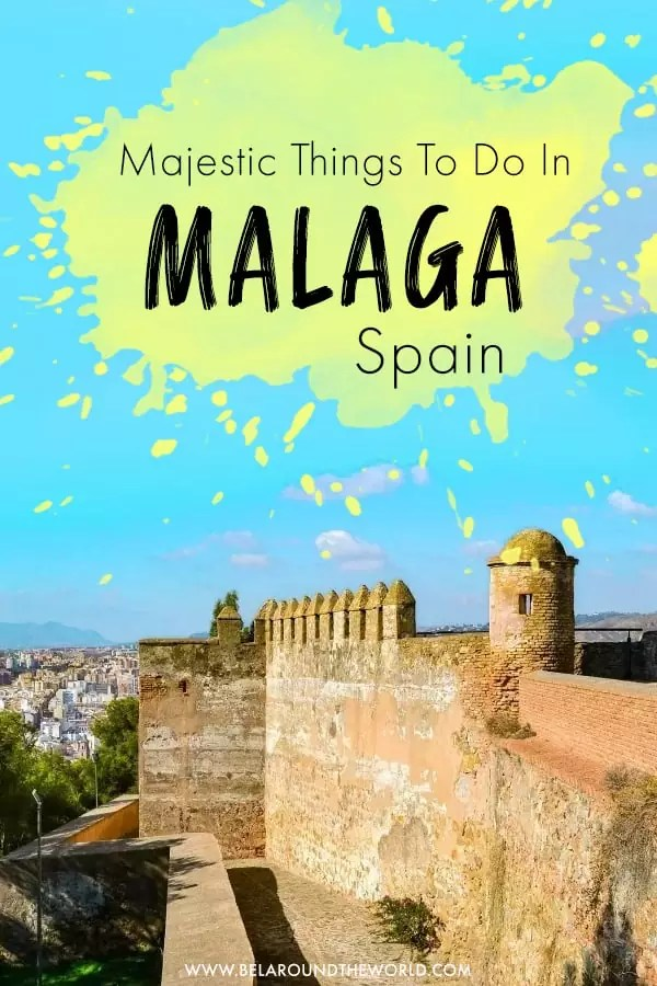 Get the top things to do in Malaga, #Spain here! Including Malaga beaches and tips on getting from #Malaga to #Granada.
