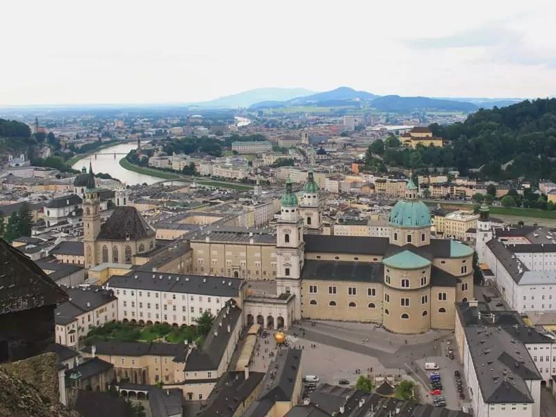 salzburg austria sound of music tour landscape cityscape panorama city