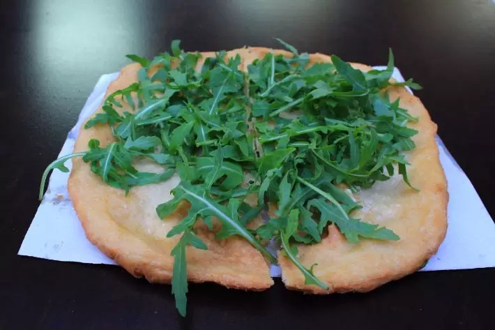 what to eat in budapest, langos