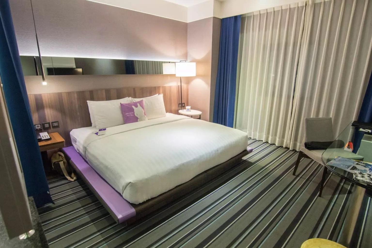 WESTGATE Hotel Taipei bedroom