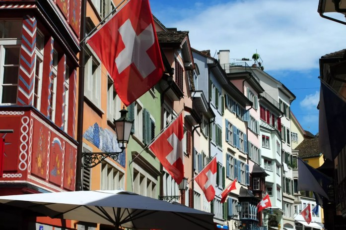 Zurich; 12 Cities to Celebrate This Christmas