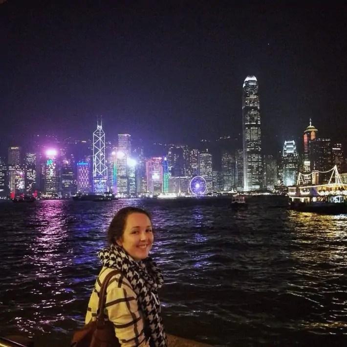 hong kong skyline night city skyscraper miss