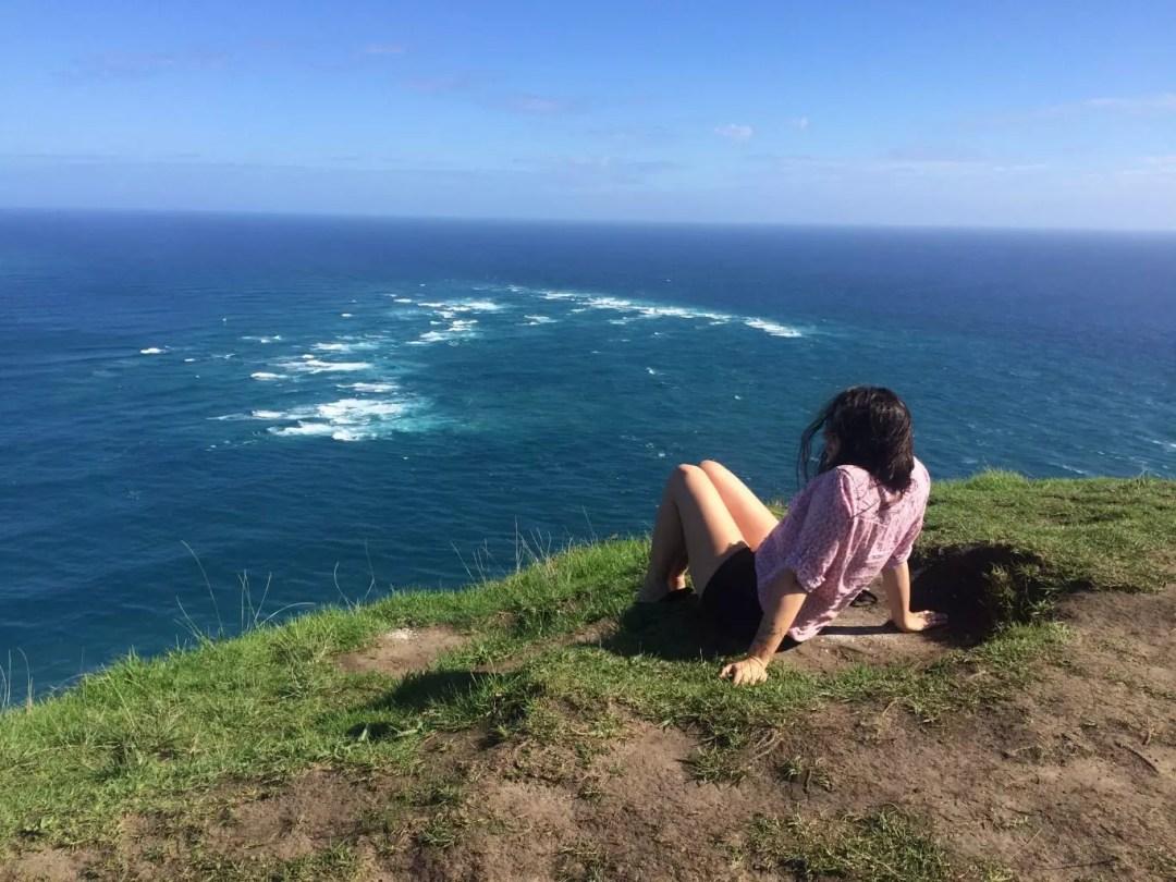 Cape Reinga, NZ, sarah johnson, student travel series
