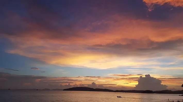 ao nang beach sunset, island hopping tour, things to do in krabi, what to do in krabi, where to stay in krabi