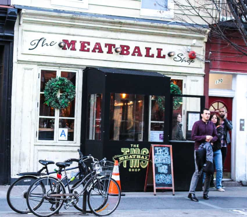 the meatball shop, nyc restaurants, new york city