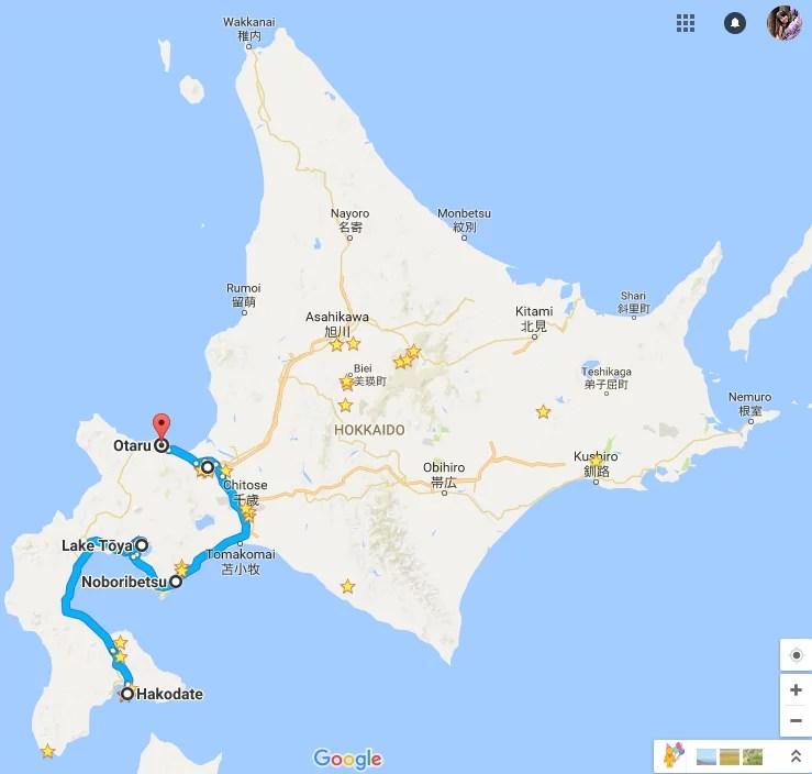 6-Day South Hokkaido Itinerary