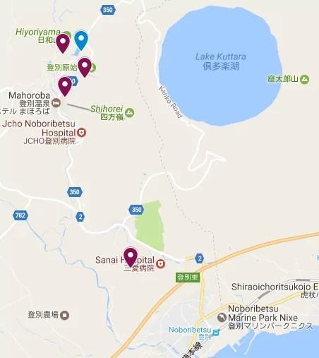 NOBORIBETSU itinerary hokkaido japan