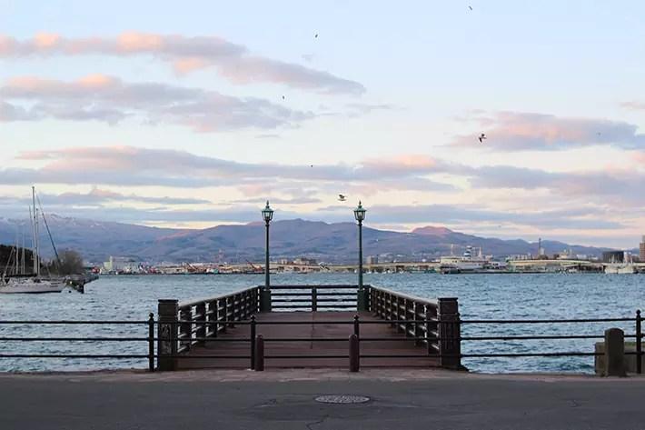 pier sunset Hakodate & Toya - 6-Day South Hokkaido Itinerary