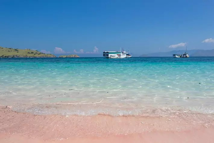 pink-beach-labuan bajo indonesia