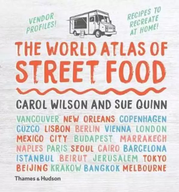 World Atlas of Street Food, christmas travel gift
