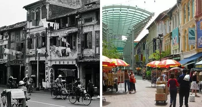 Chinatown old vs new