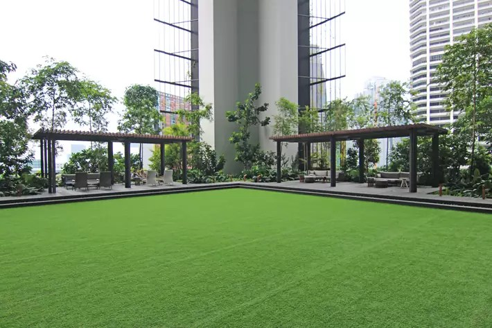 oasia hotel downtown singapore green-lawn-open-space-yoga