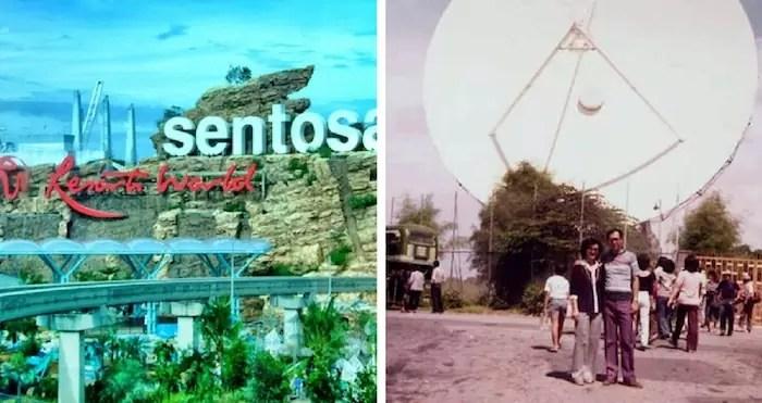 sentosa island old vs new
