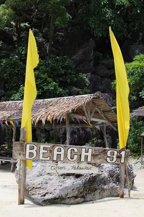 beach-lunch-coron-island-hopping-tour, coron palawan tour package