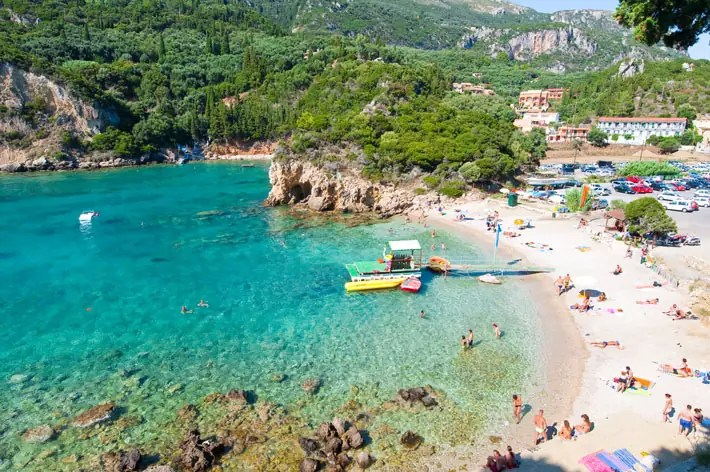 corfu greece; best places to visit in greece in october