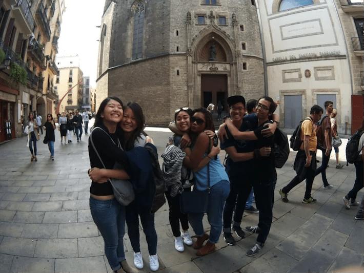 europe exchange students