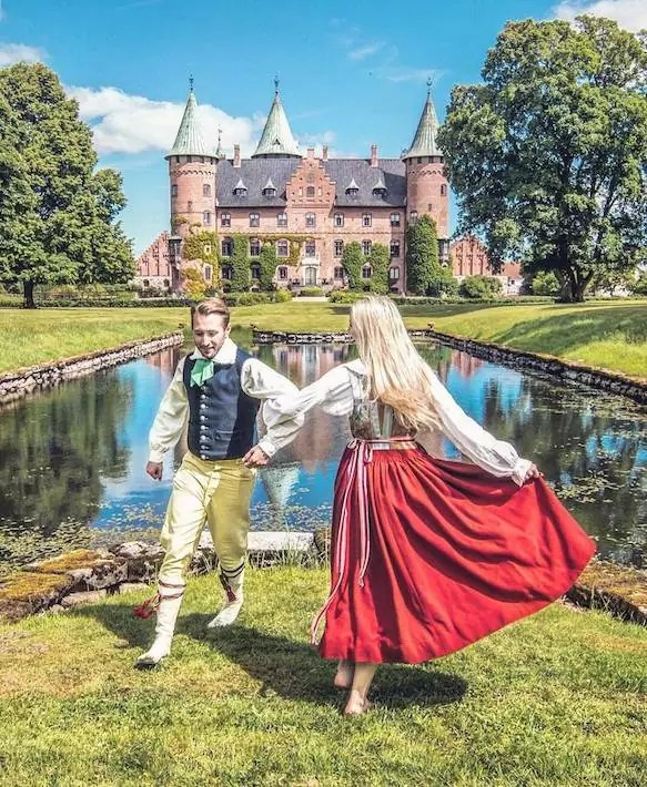 skane county castle fairytale