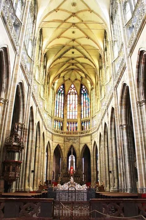 St Vitus Cathedral, 3 days in prague, prague trip