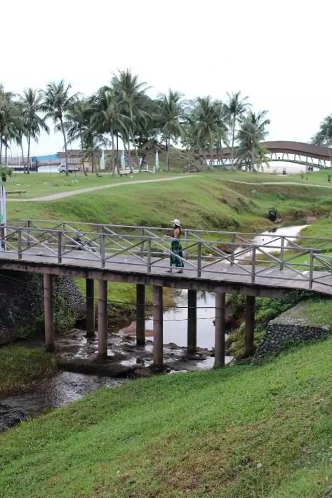 bintan lagoon resort bridge, bintan travel guide