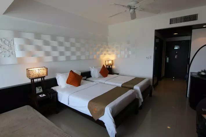 bintan lagoon resort room, bintan travel guide