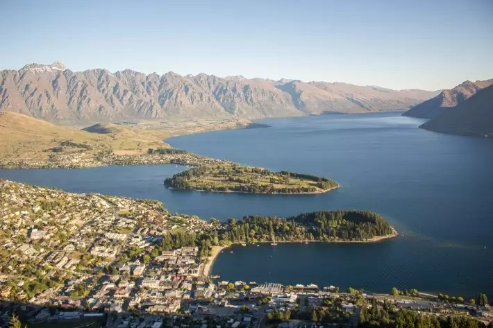 Queenstown viewpoint new zealand