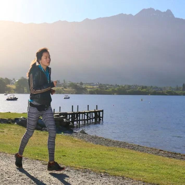 Air New Zealand Queenstown International Marathon isabel run