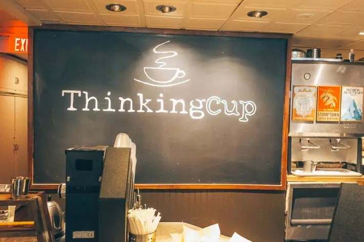 Breakfast at The Thinking Cup, 2 Days in Boston, weekend in Boston itinerary