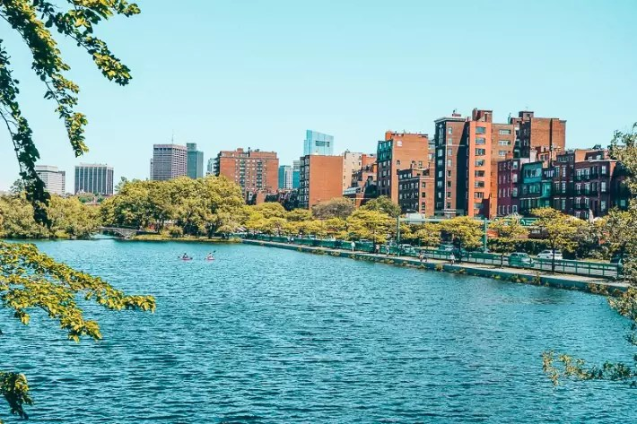 Commonwealth Avenue Mall, Back Bay, 2 Days in Boston, weekend in Boston itinerary