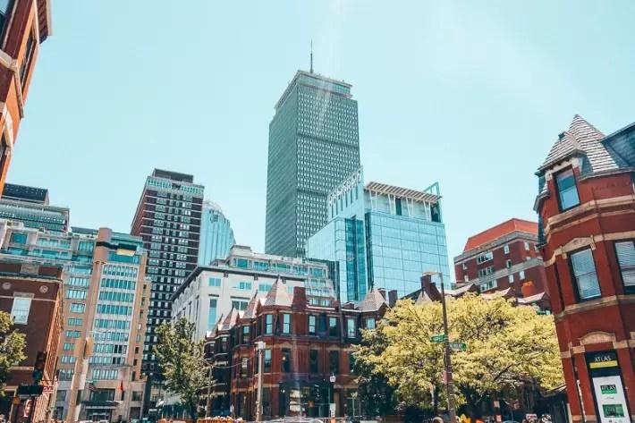Newbury Street, Boylston Street, 2 Days in Boston, weekend in Boston itinerary