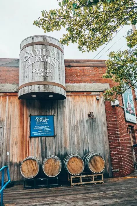 Sam Adams Brewery Tour, 2 Days in Boston, weekend in Boston itinerary