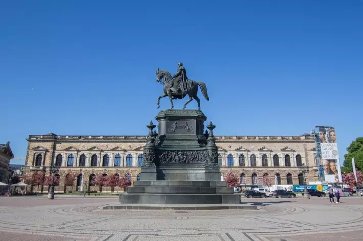 Theaterplatz, Things to Do in Dresden, Germany