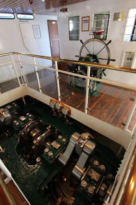steam ship engine, Things to Do in Dresden, Germany
