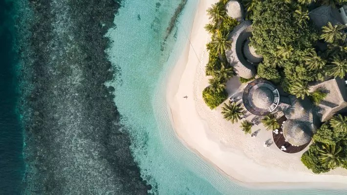 Maldives - ChristineAbroad; Best drones for travel