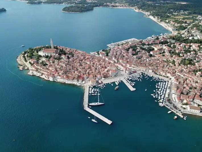 Rovinj, Istria, Croatia; Best drones for travel