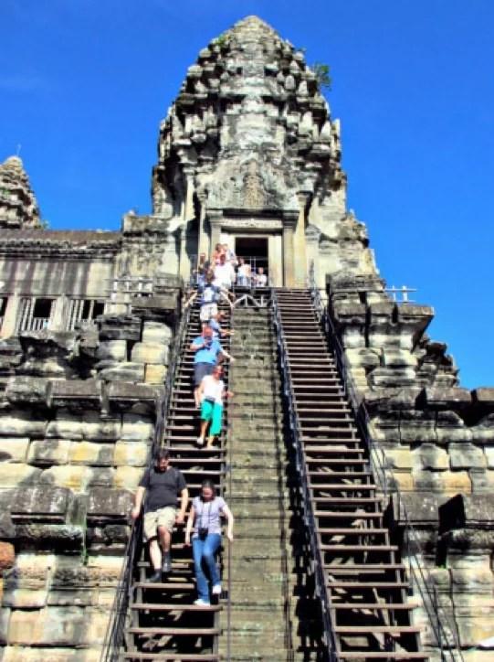 Siem Reap, Cambodia temple