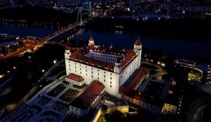 bratislava castle - thertwguys; Best drones for travel
