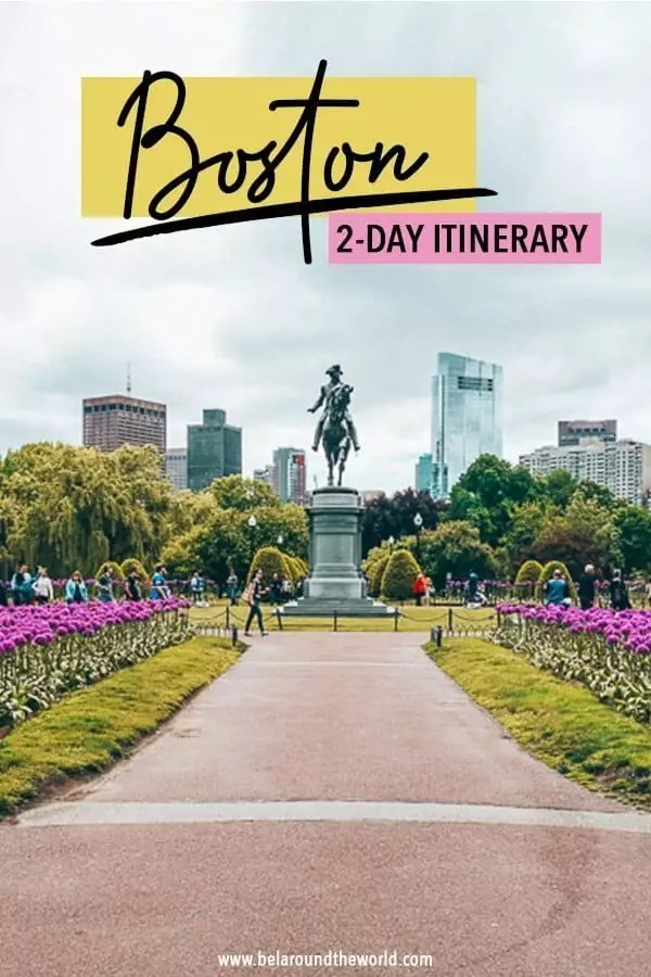 2 Days in Boston, weekend in Boston itinerary