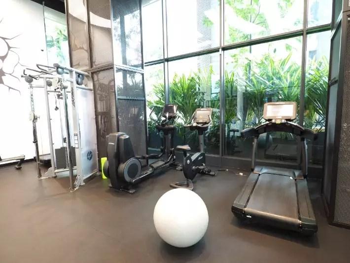 gym, yotel singapore hotel review