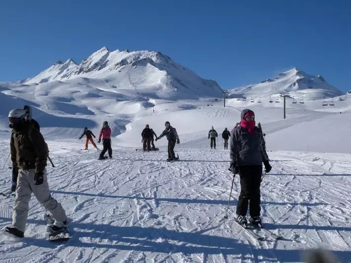 France snow, Best Ski Tracks in the World