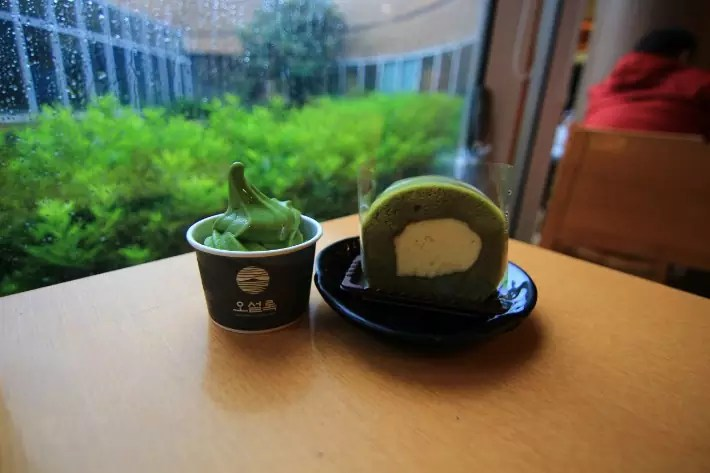 O'sulloc Museum tea matcha 오설록티뮤지엄, things to do in jeju island; what to do in jeju island, jeju island attractions