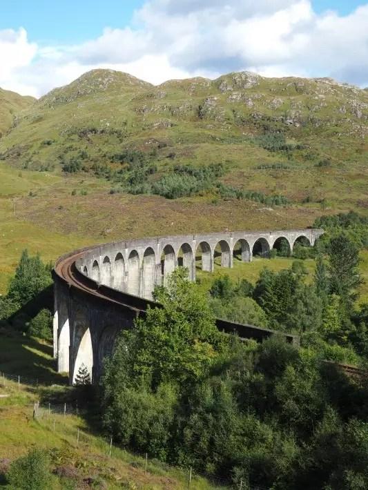harry potter hogwarts express, glenfinnan viaduct, scotland itinerary
