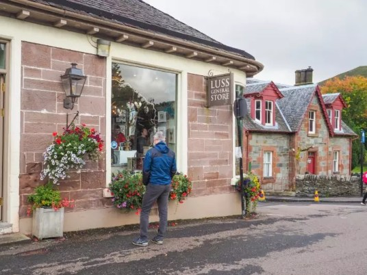 luss general store, Loch lomond, scotland itinerary